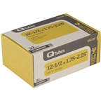 "Q-Tubes 12-1/2 x 1.75-2.125"" Value Series Schrader Valve Tube"