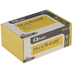 "Q-Tubes 14 x 1.75-2.125"" Value Series Schrader Valve Tube"