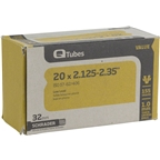 "Q-Tubes 20 x 2.125-2.35"" Value Series Schrader Valve Tube"