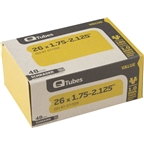 "Q-Tubes 26 x 1.75-2.125"" Value Series 48mm Schrader Valve Tube"