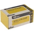 Q-Tube Value Series Tube with Schrader Valve: 27.5 x 1.75-2.125""