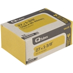 "Q-Tubes 700c x 35-40 (27 x 1-3/8"") Value Series Schrader Valve Tube"
