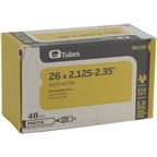 "Q-Tubes 26 x 2.125-2.35"" Value Series 48mm Presta Valve Tube"