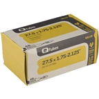 Q-Tubes Value Series Tube with 48mm Presta Valve: 27.5 x 1.75-2.125""