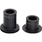 DT Swiss 142/148 x12mm Thru Axle End Caps for 11-Speed Road:  Fits Straight Pull 240 and 350 Hubs