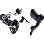 SRAM Red eTap Electric Road Kit: Shift/Brake Levers, Front/Rear Derailleurs and Batteries, Charger, USB Stick and Quick Start Guide