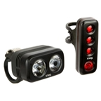 Knog Blinder Road 250 Twinpack - Black