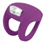 Knog Frog Strobe Front - Grape