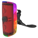 Knog Pop r Rear - Rainbow
