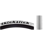 WTB ThickSlick 700 x 25 Comp Tire, White, Wire Bead
