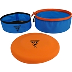 Seattle Sports Treat-N-Toys GoBowl for Pets: Blue, 9""