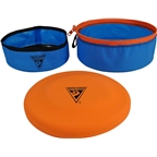 Seattle Sports Treat-N-Toys GoBowl for Pets: Blue, 7""