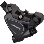 Shimano RS805 Road Disc Brake Caliper, Black with Resin Pads, Flat-Mount, Rear