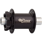 Onyx MTB Front 6 Bolt Disc Hub 110mm 32 Hole 15mm Thru Axle Black