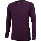 Surly Merino Wool Raglan Shirt: Plumb Purple