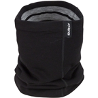 Surly Merino Wool Neck Gaiter: Black/Gray One Size