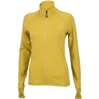 Surly Merino Wool Women's Long Sleeve Jersey: Dried Mustard Yellow