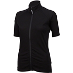 Surly Merino Wool Lite Women's Short Sleeve Jersey: Black