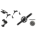 SRAM X01 Eagle Drive Train Kit-In-A-Box GXP 175mm 32T, Trigger Shifter, Guide Ultimate Brakes, Gray Logos and Black Cassette, No Rotors, No BB