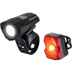 Sigma Buster 100 Headlight and Nugget Flash Taillight Set