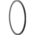 HED Belgium Plus Disc Rim: 650B+ x 25mm 28h Black