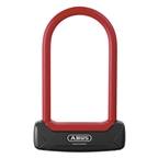 Abus Granit Plus 640 - 6 inch U-Lock Red / 11mm round shackle