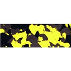 Serfas Synthetic Cork Bar Tape - Yellow/Gray/Black Splash