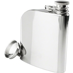 GSI Outdoors Glacier Stainless Trad Flask: 6oz Polished