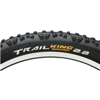 """Continental Trail King Tire 27.5 x 2.2""""  ProTection Folding Bead and Black Chili Rubber"""