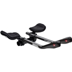 Profile Design T4 Plus Carbon Aerobar with J5 Bracket and F-40TT Armrest: Black