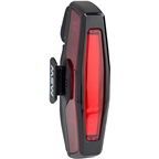 MSW Pangolin Rear USB Taillight with Multiple lighting Modes: Black