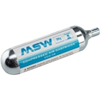 MSW CO2 Cartridge 38g, Each