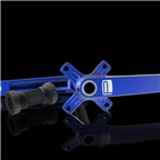 Promax CF-2 Cold Forged 2 Piece Crank 24 x 165mm Blue