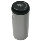 Soma Stash Bottle Large Silver/Black