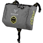 Apidura Handlebar Pack Accessory Pocket Grey/Black