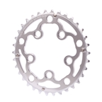 Interloc Racing Design Triplizer Chainring 5x74/110BCD 34t - Silver