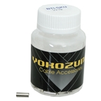 Yokozuna Ferrules 4mm - Chrome 100/bottle