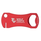 Wolf Tooth Components Bottle Opener And Rotor Truing Tool-Red