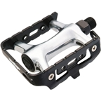 "Wellgo 944 Pedals 9/16"" - Black/Silver"