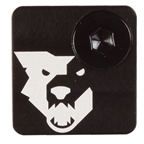 Wolf Tooth Components DM Cover Wolf Face - Black