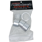 "Vuelta Headset Spacer 1-1/8"" X 20mm - Silver 5/Bag"