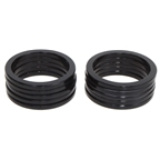 "Vuelta Headset Spacer 1"" X 2.5mm - Black 10/Bag"