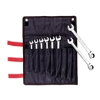 IceToolz Box/Ratcheting Wrench 8pc Set 8mm-15mm