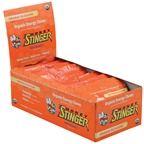 Honey Stinger Organic Energy Chews Orange Blossom  12/Box