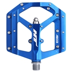 HT Components AE03 Evo Platform Pedals CrMo - Royal Blue