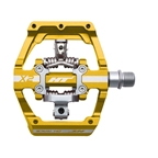 HT Components X2 Clipless Platform Pedals CrMo - Gold