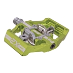 HT Components X2 Clipless Platform Pedals CrMo - Apple Green