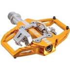 HT Components T1 Clipless Platform Pedals CrMo - Gold