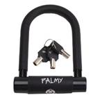 "Palmy Alloy Mini U-Lock 3"" X 5"" - Black"