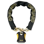 "OnGuard Beast Chain With Padlock 70"" X 0.5"""
